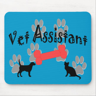 Vet Assistant Gifts Mouse Pads
