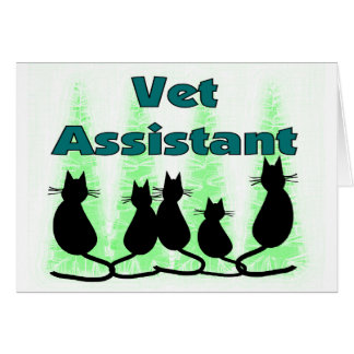 Vet Assistant/Tech Card