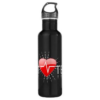 vet tech aluminum 710 ml water bottle
