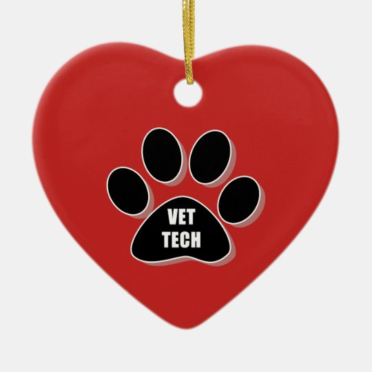 vet tech ornament