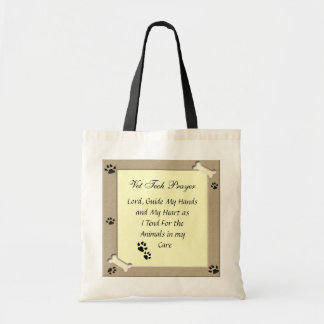Vet Tech Prayer Tote Bag