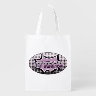 vet tech reusable shopping bag