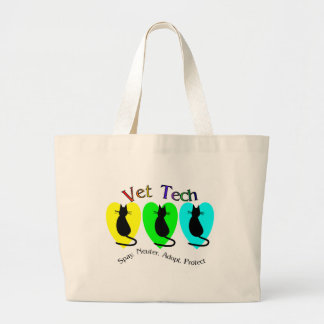 Vet Tech , Unique Gifts for Veterinary Staff Canvas Bags