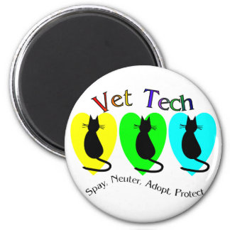 Vet Tech Unique Gifts for Veterinary Staff Magnets
