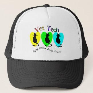 Vet Tech , Unique Gifts for Veterinary Staff Trucker Hat