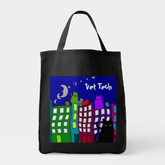 Vet Tech Whimsical Tote Bag