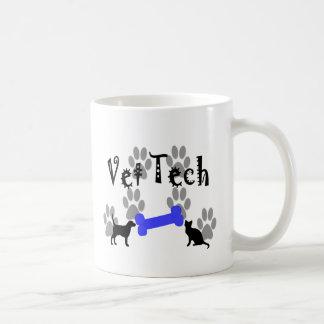Vet TECH With Dog Bone Mug