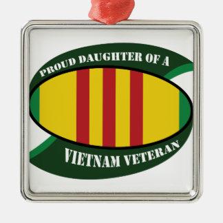 vet vet daughter metal ornament