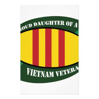 vet vet daughter personalized stationery