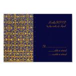 Vêtement de cérémonie croisé RSVP Carton D'invitation 8,89 Cm X 12,70 Cm