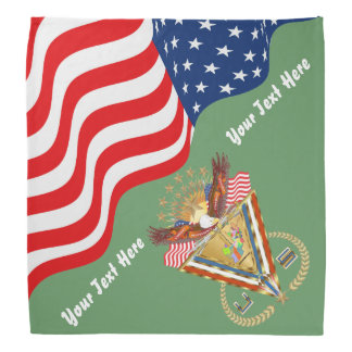 Veteran Afghanistan View about Design Bandana