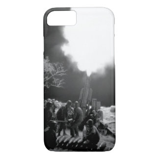 "Veteran Artillery men of the ""C"" Btry_War Image iPhone 7 Case"