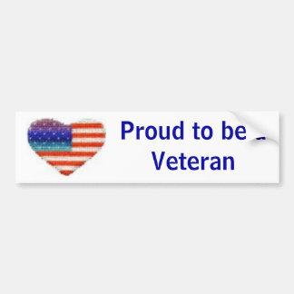 Veteran Bumper Sticker