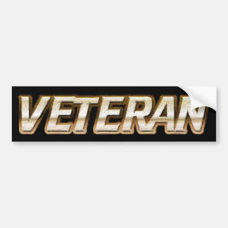 Veteran Bumper Sticker
