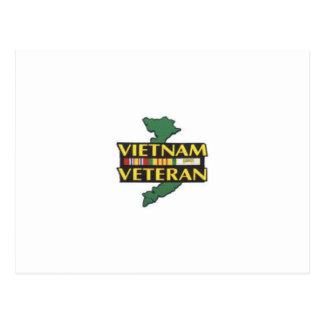Vétéran du Vietnam Cartes Postales