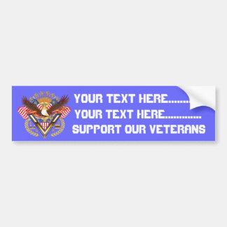 Veteran Marine view notes Bumper Sticker