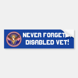 Veteran Military View About Design Bumper Stickers