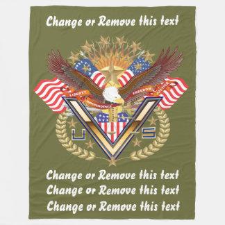 Veteran or Family View About Design Fleece Blanket