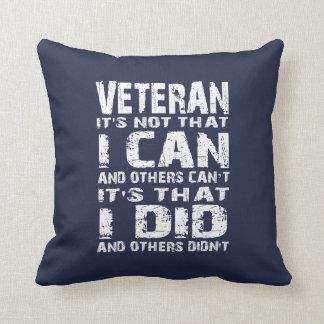 Veteran Throw Pillow