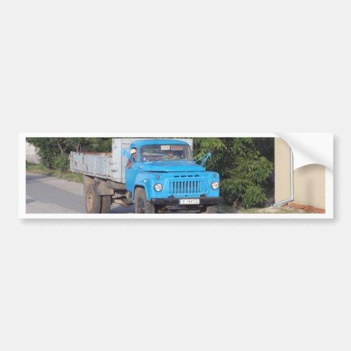 Veteran Truck Bumper Sticker