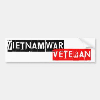 vétéran vietnamwar autocollant de voiture