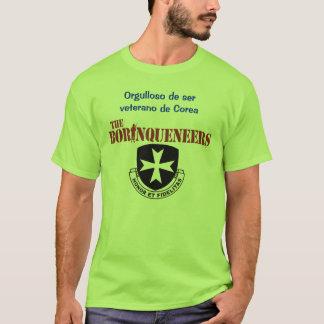 Veterano de Corea - Borinqueneers T-shirt