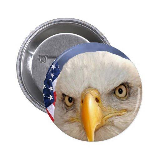 """Veterans Day"" Pinback Buttons"