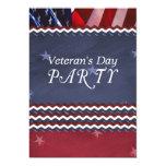 Veteran's Day Party Invitation