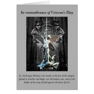 Veteran's Day Prayer Card