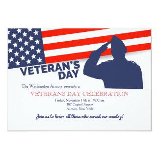 Veteran's Day Salute Invitation