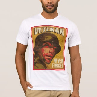 Veteran's Day - Veteran - Never forget T-Shirt