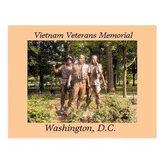 Vétérans du Vietnam commémoratifs Carte Postale