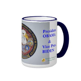 VETERANS FOR OBAMA/BIDEN ~ Mugs