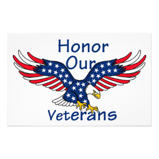 Veterans Personalized Stationery