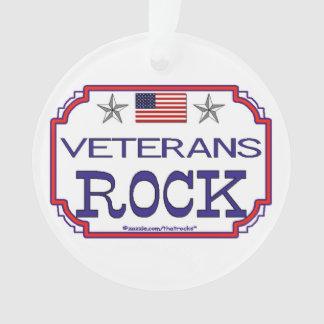Veterans Rock Ornament