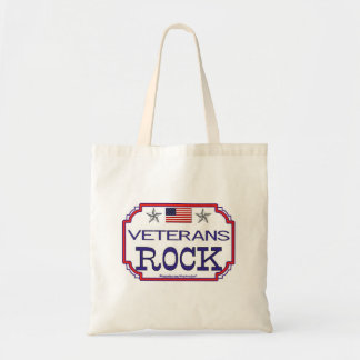 Veterans Rock Tote Bag