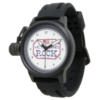 Veterans Rock Watch