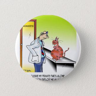 Veterinarian Cartoon 9480 2 Inch Round Button