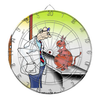 Veterinarian Cartoon 9480 Dartboard