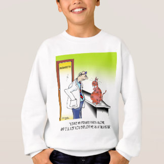Veterinarian Cartoon 9480 Sweatshirt
