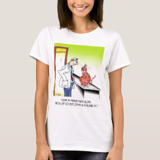 Veterinarian Cartoon 9480 T-Shirt
