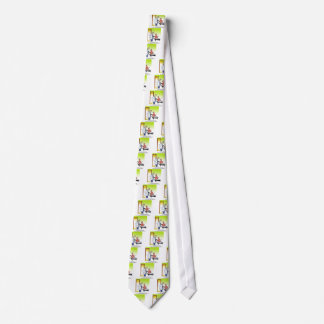 Veterinarian Cartoon 9480 Tie