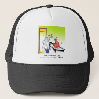 Veterinarian Cartoon 9480 Trucker Hat