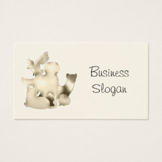 Veterinarian - Connect with Your Customer Business Card