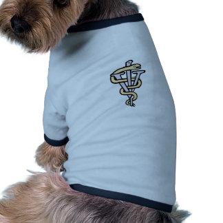 Veterinarian logo dog tshirt