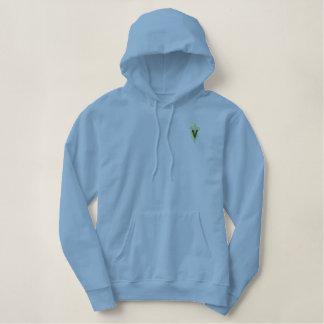 Veterinarian Logo Embroidered Hooded Sweatshirts