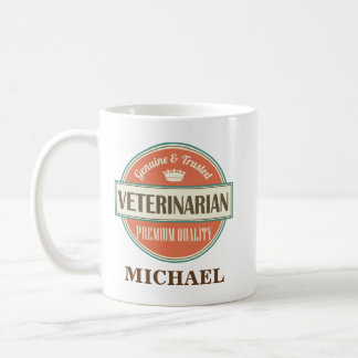 Veterinarian Personalized Office Mug Gift
