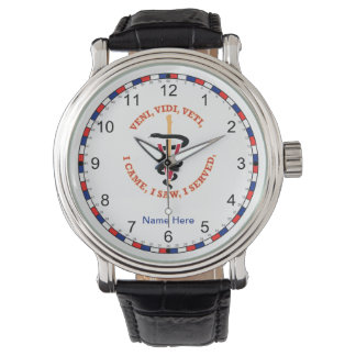 Veterinarian VVV Caduceus Watch