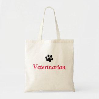 Veterinarian with Black Paw Print