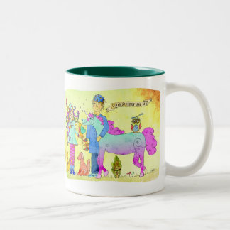 Veterinarians are cool Two-Tone coffee mug